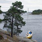 Fifång oli ensimmäinen yöpymispaikka