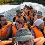 Paluumatka Veikon veneellä