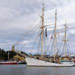 Tukholmassa nähtiin purjealus Zawisza Czarny