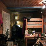Fjäderkammare - ensimmäisen retken majapaikka