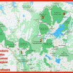 Operaatio Paulaharjun (2014-2019) esityspaikat