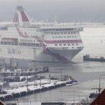 Baltic Princess saapuu satamaan, Tallinna