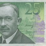 A.H.Tammsaare 25 kruunun setelissä