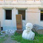 Lenin museon takapihalla, Tallinna